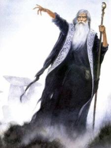 Merlin, energy healer