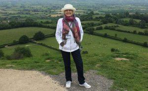 Energy healing retreat atop Glastonbury Tor