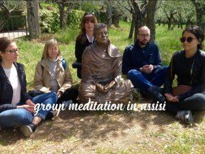 Kelly Hampton Assisi Italy spiritual retreat