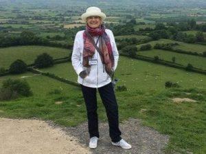 Kelly Hampton Glastonbury Tor