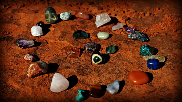an arrangement of stones illustrating soul recalibration