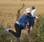 Kelly Hampton leading England crop circle retreat