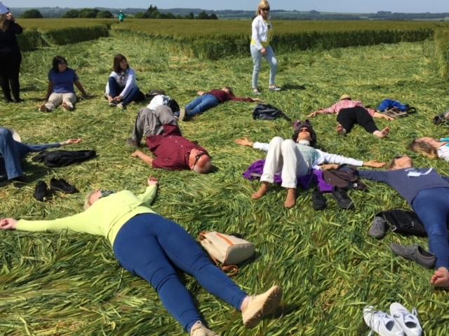 Kelly Hampton England crop circle retreat