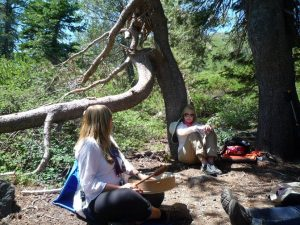 Kelly Hampton's Mount Shasta Retreat